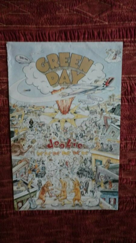 Green Day Poster - Dookie Cover - 24x36 - circa 1994 - Used