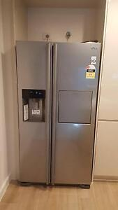 LG Side by Side Fridge - Fantastic condition - GC-P197DPSL St Peters Marrickville Area Preview