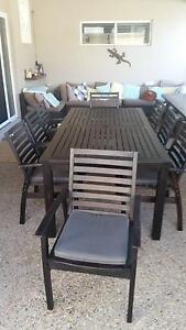 Outdoor furniture 8 seater Caloundra Caloundra Area Preview