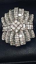 Diamond Dress Ring 18ct White Gold Waterford West Logan Area Preview
