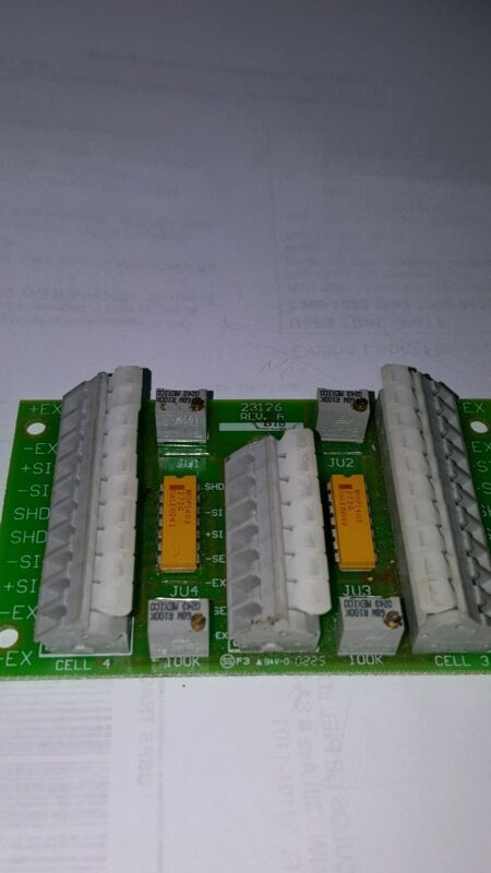 ( USED )  SCALE  SIGNAL TRIM SUMMING BOARD 4 Load Cell, B-TEK