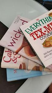 Various cookbooks-HairyDieters,Mary Berry,Pete Evans,WomensWeekly Indooroopilly Brisbane South West Preview