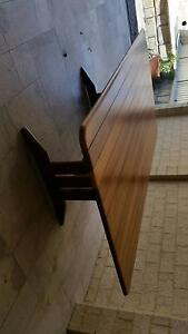Solid Jarrah outdoor table. Ascot Brisbane North East Preview