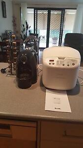 Coffee machine and Breville Breadmaker Ormiston Redland Area Preview