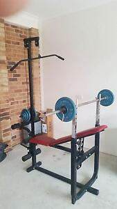 Home Gym with weights Albury Albury Area Preview