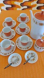 RC Noritake 790 Tamala 16 piece coffee/tea set orange Taree Greater Taree Area Preview