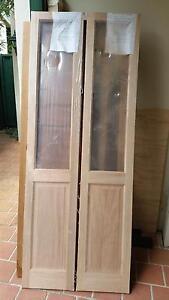 Brand New Timber Bi-Fold doors Kirrawee Sutherland Area Preview