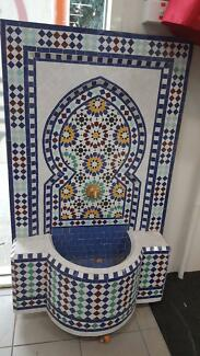 GENUINE MOROCCAN IMPORTED MOSAIC FOUNTAINS