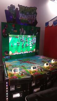 Redemption Arcade video game Plants versus Zombies 4 Players