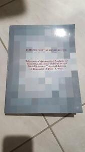 Introductory Mathematical Analysis Bundaberg Central Bundaberg City Preview