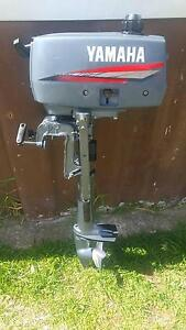 Yamaha 2hp Outboard Motor As New - used for 1/2 hour Whittington Geelong City Preview