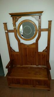 Coat / Umbrella Hall Entry Unit with Mirror,  and seat storage . Liverpool Liverpool Area Preview