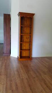 Polished timber bookcase Broome 6725 Broome City Preview