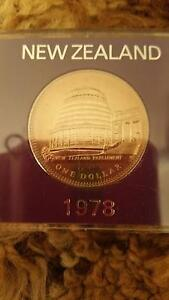 1978 NEW ZEALAND COIN IN CASE, IN VGC. Midway Point Sorell Area Preview