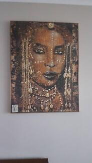 African Tribal Image - Wall Art Tapping Wanneroo Area Preview