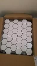white hexagonal wall tiles Clarence Lithgow Area Preview