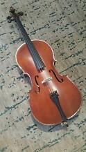 3/4 cello, 2 bows & hard case Urrbrae Mitcham Area Preview