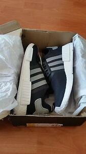 Adidas NMD black & white size 9 US sneaker Melbourne CBD Melbourne City Preview