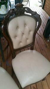 2 vintage woodens arm chairs Meadow Heights Hume Area Preview