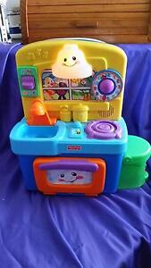 Fisher price Musical talking fridge and kitchen sink Eagle Vale Campbelltown Area Preview