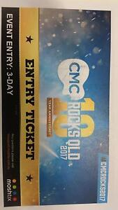 CMC Rocks QLD 3 day ticket Ipswich Ipswich City Preview