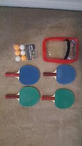 4x Ping Pong Table Tennis bats/raquets/paddles + ping pong balls Ashfield Ashfield Area Preview