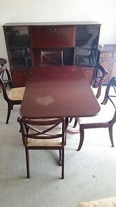 Dining table with 6 chairs Warriewood Pittwater Area Preview