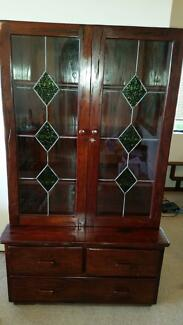 Display Unit/ Cabinet/ Storage Unit - Solid Rhodesian Teak Coogee Eastern Suburbs Preview