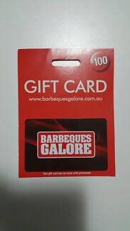 For Sale: Barbeques Galore Gift Card ($100 Value) Rockdale Rockdale Area Preview