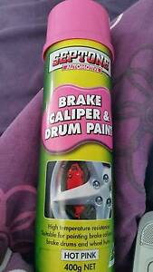 Septone brake caliper & drum paint HOT PINK X4 Thornlands Redland Area Preview
