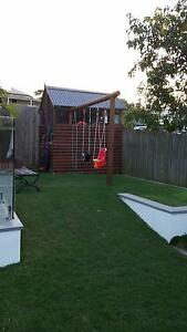 Childs cubby house and swing set Northgate Brisbane North East Preview