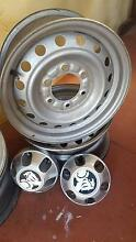 Set 4x Holden Colorado Rims Bedford Bayswater Area Preview