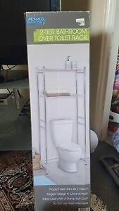 NEW 2-Tier Bathroom Over Toilet Rack Shelf Hunters Hill Hunters Hill Area Preview