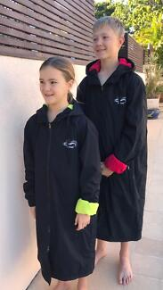 Swim parka, pool deck jacket Wazsup brand. XS,S, M or L