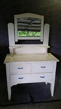 Retro Antique White Dresser Soldiers Point Port Stephens Area Preview