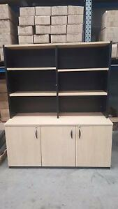 LIGHT COLOURED OFFICE CREDENZA - work storage furniture study Murarrie Brisbane South East Preview