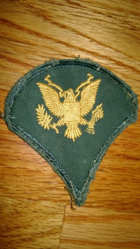 "Vintage""AMERICAN MILITARY""Branch,Heraldic,Coat of Arms Etc.Patch"