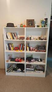 2 White Bookshelves in excellent condition Macquarie Park Ryde Area Preview