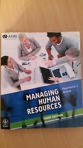 Managing human resources, 3rd edition Eden Hill Bassendean Area Preview