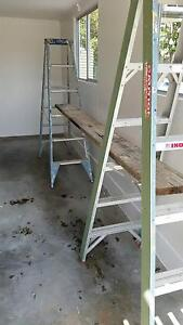 2 x 6 foot Ladders and 3 metre timber plank Coorparoo Brisbane South East Preview