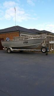 Savage 14 ft aluminium boat. Leopold Geelong City Preview