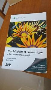 First Principles of Business Law 2015 Coolbellup Cockburn Area Preview