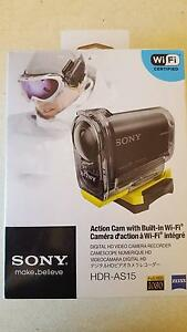 2 x New Sony Action Cameras with built in WI-FI Buccan Logan Area Preview