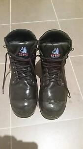 Work boots Blue Steel size 9 Mandurah Mandurah Area Preview