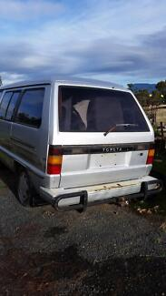 1986 Toyota Tarago Wagon Buy complete to restore or wreck