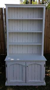 French Hamptons Bookcase Buffet Bradbury Campbelltown Area Preview