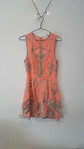 ALICE MCCALL QUARTZ DRESS CORAL AU SIZE 8 - USED ONCE Waterloo Inner Sydney Preview