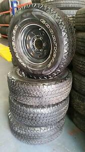 SET OF 4 15INCH WHEELS + 4 GOODYEAR TYRES Yeerongpilly Brisbane South West Preview