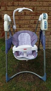 Fisher Price Power Plus swings 2 for $100  Twin Bundle Ocean Reef Joondalup Area Preview