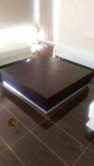 2 x Large square coffee tables @ $350 each